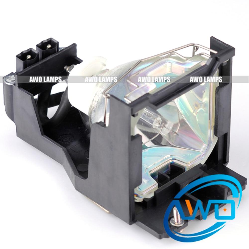 ФОТО AWO projector lamp ET-LA730 for PANASONIC PT-L520/PT-L720/PT-L730NT/PT-L520NT/PT-L520U/PT-L720NT with housing/case