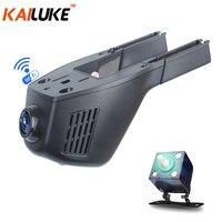 KAILUKE Universal Mini Car DVR Wifi Camera Car DVRS Video Recorder Monitor Dash Cam Black Box