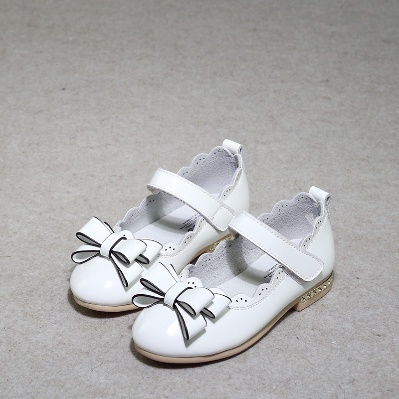 Spring autumn New Girls Shoes Kids Fashion Leather Princess Hollow Flat Shoes Girls Breathable Casual Sneakers Size26-37  new children s shoes in the spring of autumn boy girls running shoes casual shoes eur 31 37 yxx