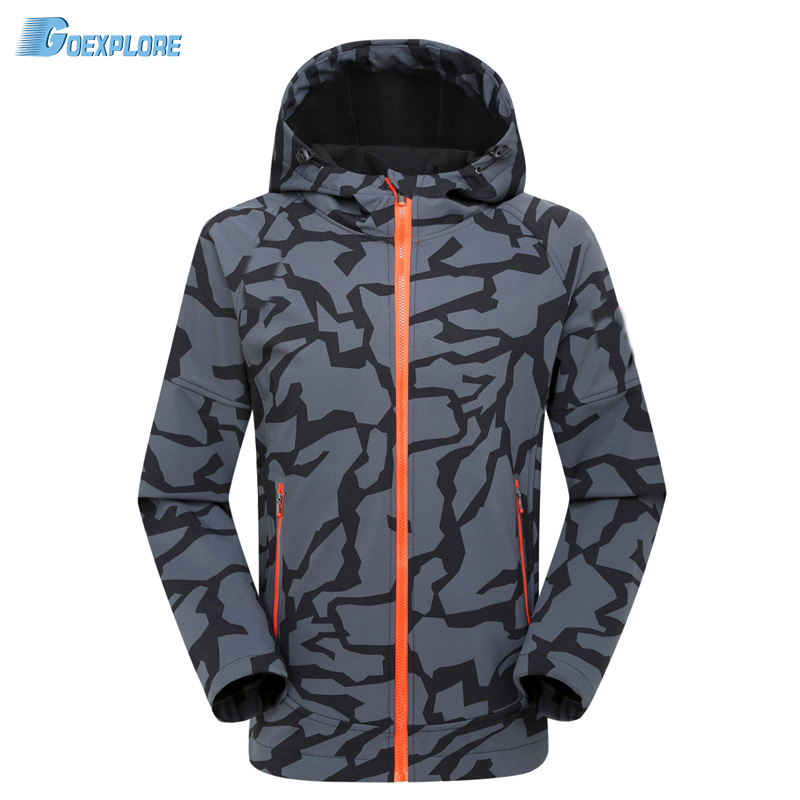 ФОТО Military Gear Waterproof softshell Outdoor Jacket Men Army Tactical Jacket Spring Windbreaker Coat Camouflage Hunting Clothes