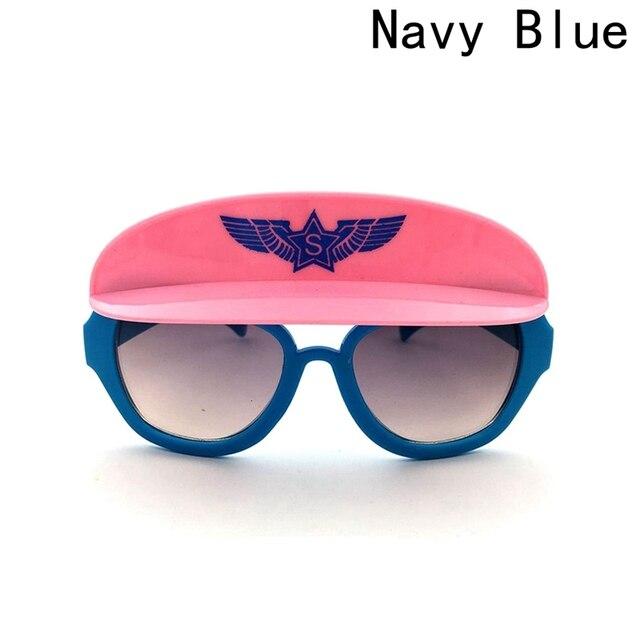 1 pc Outdoor Sun Glasses 2018 Cartoon Fox Sunglasses Children Travel Candy Color Goggles Oculos De Sol 4