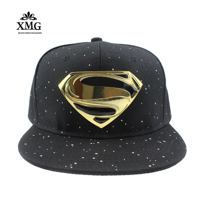 2cab1b82 High quality Batman Superman Snapback Caps Woman Hat Cool Gorras Bone  Female hat Baseball Cap hats for men Gorro hip hop cap