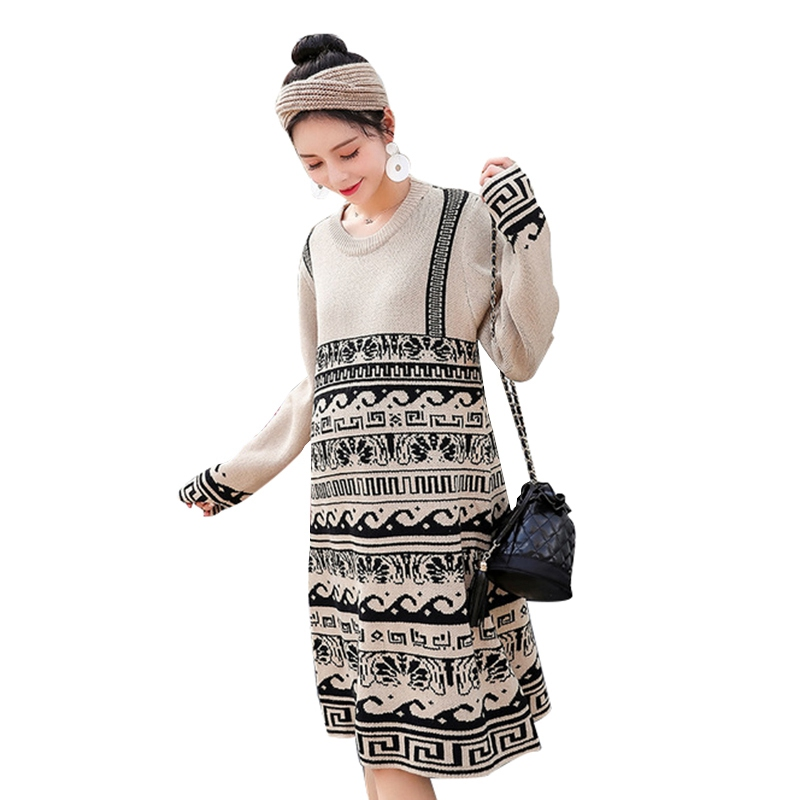 New Fashion Maternity Thick Sweaters Women Long Sleeve Pullover Pregnancy Basic Sweaters Autumn Winter Warm SweatersNew Fashion Maternity Thick Sweaters Women Long Sleeve Pullover Pregnancy Basic Sweaters Autumn Winter Warm Sweaters