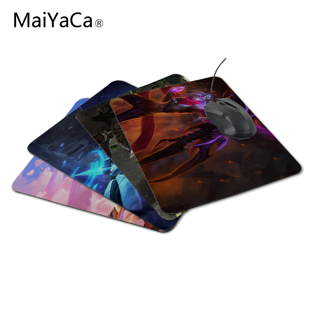 MaiYaCa Fighting Varus Custom MousePad for Size 18*22cm and 25*29cm Support for Desktop PC Computer Not Lockedge MousePad