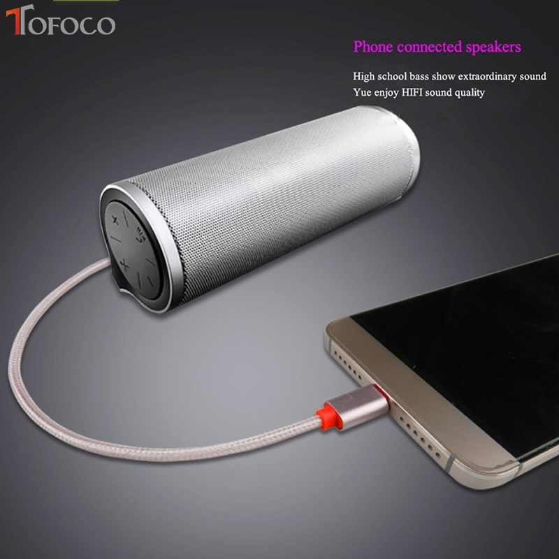 2017 New Arrival Polybag Tofoco Usb-c Type C To 3.5mm Car Aux Cable For Google Pixel/xl Leeco Le Max 2/pro 3 Laptop
