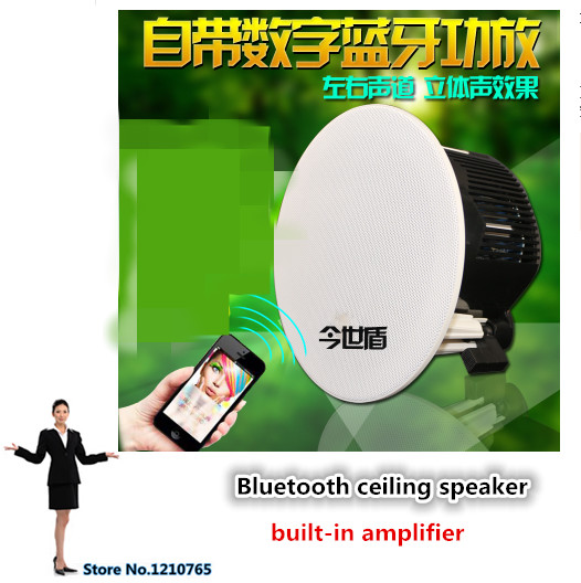Active Bluetooth Ceiling Speaker Stereo Wireless Ceiling