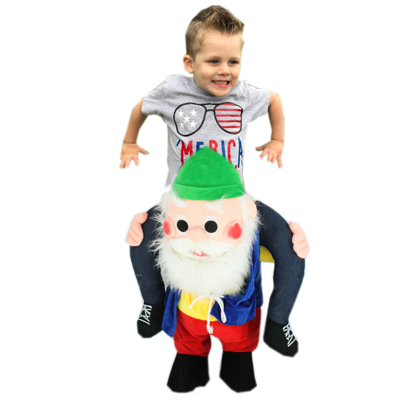 Novelty-Santa-Claus-Costume-Ride-on-Me-Mascot-Carry-Back-Fancy-Up-Party-Unisex-Costume-Christmas