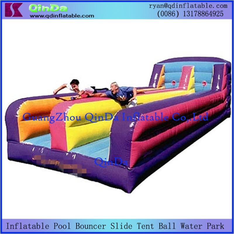 Inflatable Bungee Run12