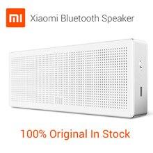 100% Original Xiaomi Altavoz Bluetooh, Xiaomi Caja Cuadrada Del Altavoz Subwoofer Estéreo Portátil Inalámbrico Mini HiFi Bluetooth Al Aire Libre