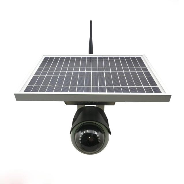 Wireless waterproof battery power ip camera solar camera 3