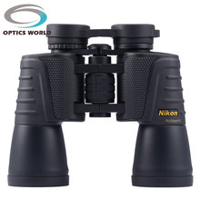 Nikon 20×50 168ft/1000yds 56 m/1000 m de nitrógeno a prueba de agua de alta potencia de alta definición noche visión prismáticos telescopios de caza