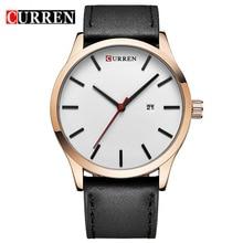 Hommes Montre CURREN montres 2016 top marque de luxe de mode casual Montres À Quartz en cuir relogio masculino esportivo