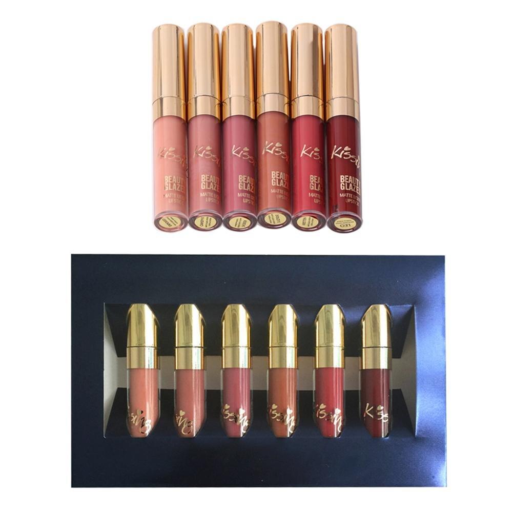 Gloss labial líquido matiz maquiagem cosméticos Feature 1 : Matte Lip Gloss Sexy Tattoo Cosmetic