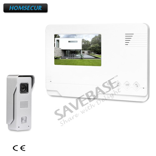 HOMSECUR RU Logistics 4.3inch Video Door Intercom System with Outdoor Monitoring for Home SecurityHOMSECUR RU Logistics 4.3inch Video Door Intercom System with Outdoor Monitoring for Home Security