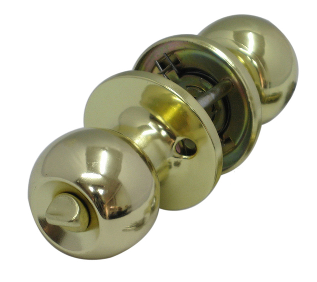 Door Lock Global Knob Door Hardware Door Ball Lock Gold Plated Lock ...