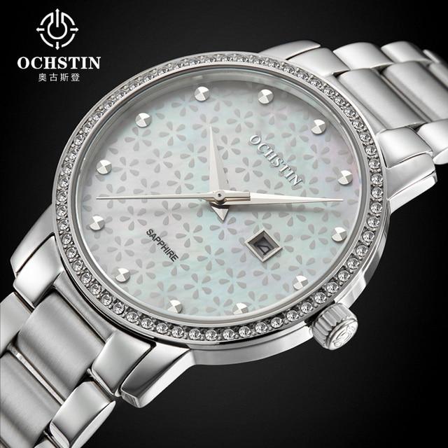 2016 Новых Элегантных Женщин Часы Ochstin Известный Бренд Браслет Смотреть Мода Роскошные Дамы Кварцевые Наручные Watche Relógio Feminino