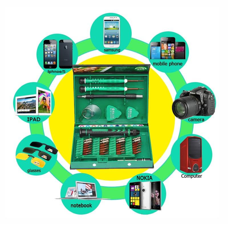 LAOA eladó csavarhúzó készlet 38 in1 javító szerszámkészlet - Szerszámkészletek - Fénykép 4