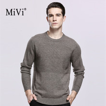 Здесь можно купить  MIVI Brand Oversized Warm Soft Men Sweater Casual 100% Cashmere Wool Mens Pullover Sweaters Winter C for male M-XXXXL