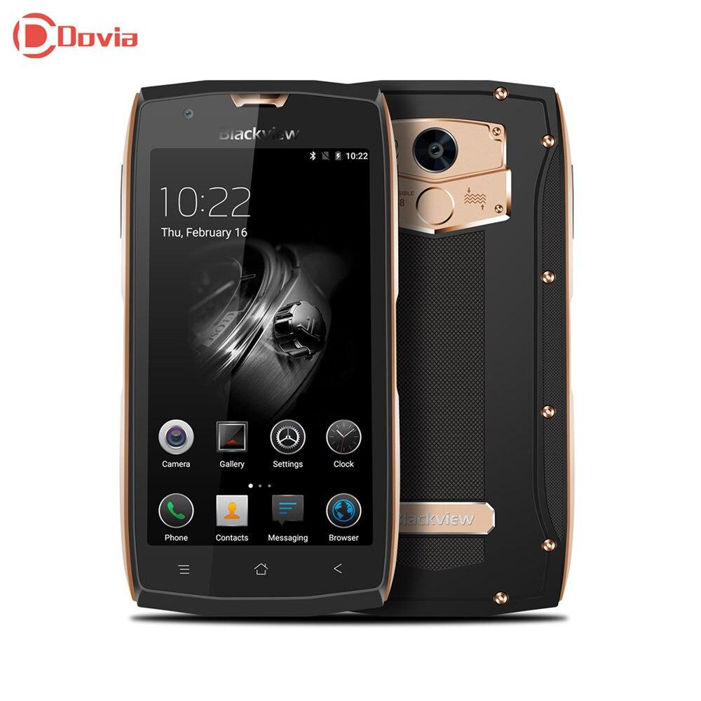 Blackview BV7000 Pro 4g Smartphone 5.0 pouce Android 6.0 MTK6750 Octa Core 4 gb RAM 64 gb ROM IP68 étanche 8.0MP + 13.0MP Téléphone