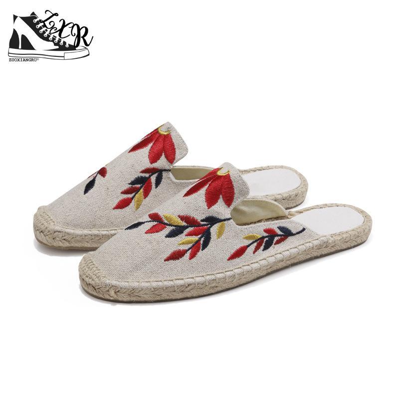 Zuoxiangru Hemp Loafers Fisherman Shoes Woman Straw Slip On Casual Flats Platform Women Shoes Size 35-40 все цены