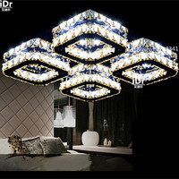 The New Listing Europe Fashion Dimming Bedroom LED Ceiling Light Creative K9 Crystal Lamp Bedroom Lamp