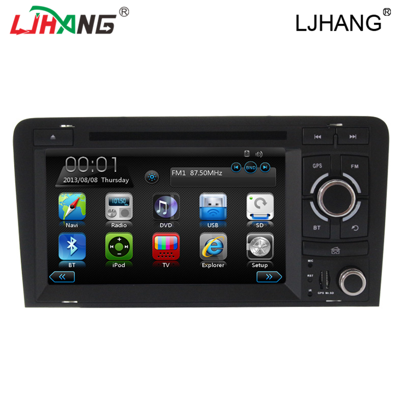 Advanced 7 inch 2 din car radio dvd digitales for AUDi A3 font b GPS b