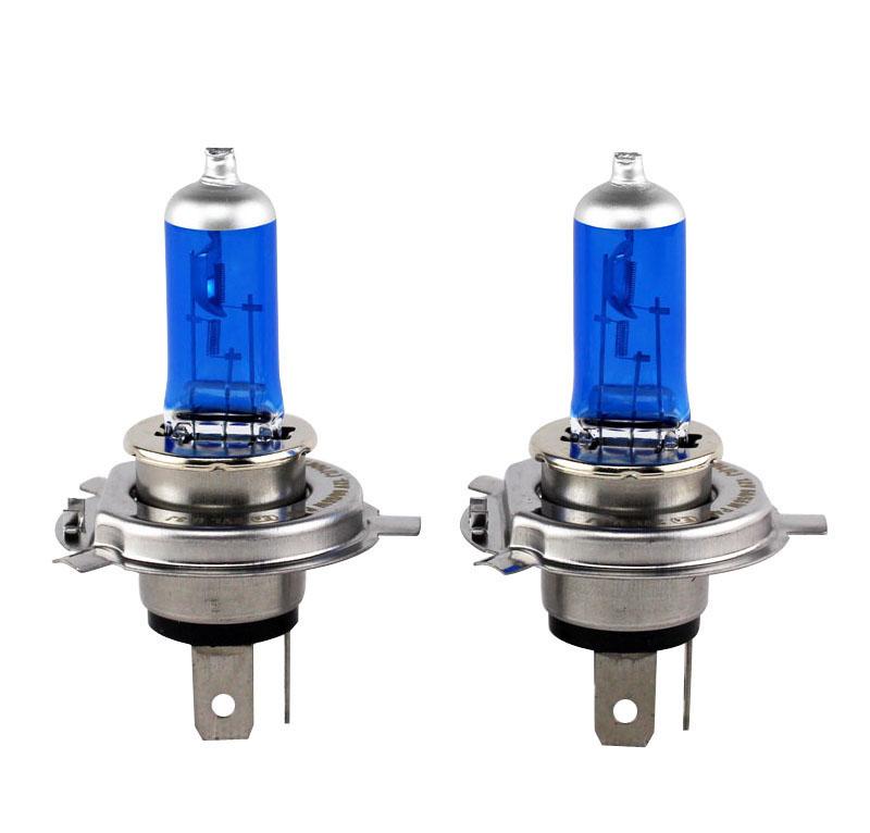Prix pour XENCN H4 Super Bright Blanc Brouillard Halogène ampoule source de Lumière externe De Voiture style 12 V 100/90 W 9003 UV Xénon auto Lampe