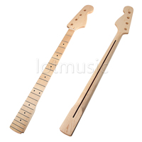 TOP Quality Maple 21 Fret Bass Neck For Fender Bass Jazz Replacement Bass Clear Satin