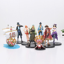 Anime One Piece 15th Anniversary Edition Luffy Zoro PVC