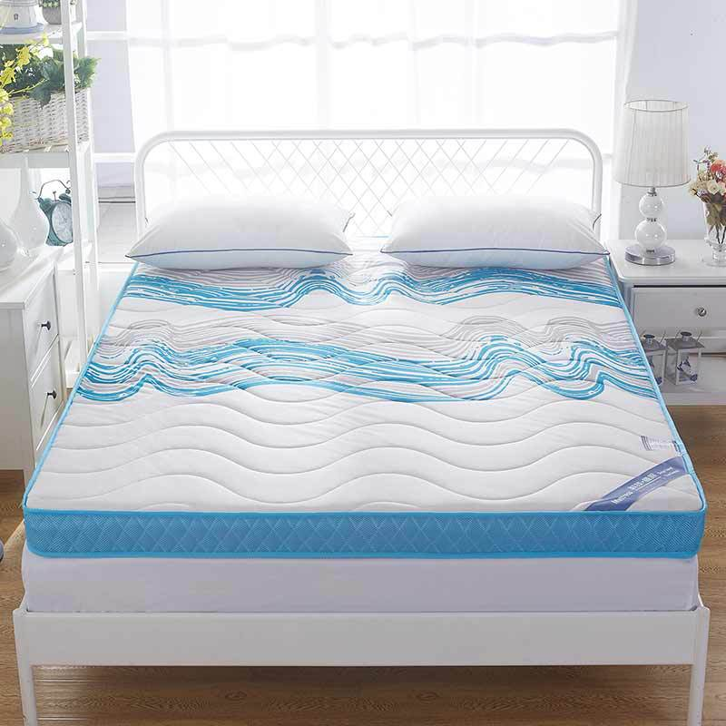 Knitted memory foam mattress, high-density thickening, anti-skid, single double four seasons folding bed, mattress, bed product
