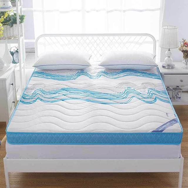 Knitted Memory Foam Mattress High Density Thickening Anti Skid Single Double Four Seasons Folding Bed Product