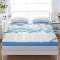 Knitted memory foam mattress, high density thickening, anti skid, single double four seasons folding bed, mattress, bed product