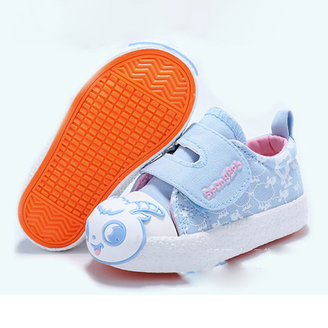 Kids Shoes for Girl Children Canvas Shoes Boys Candy Color First Walkers Baby  Shoes Sneakers Children 32453ecc66c5