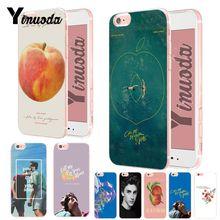 Yinuoda Call Me на Ваше имя очаровательны Цветной рисунок телефон назад чехол для iPhone Xs Max 8 7 6 6 S плюс X XS XR 5 5S SE случае