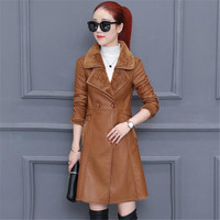 Thick Lambswool Pu High Quality Leather Jacket Warm Autumn Winter Solid Color Pu Coat Fashion Casual