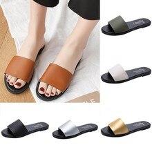 Женские модные пляжные шлепанцы с открытым носком для отдыха; обувь для учащихся на плоской подошве; женские летние Вьетнамки; женская обувь