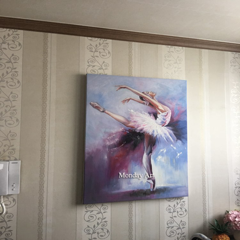 Hand-Painted-Ballet-Dancer-Oil-Painting-Swan-Lake-1-by-Nelya-Shenklyarsk-Woman-Painting-Abstract-Modern