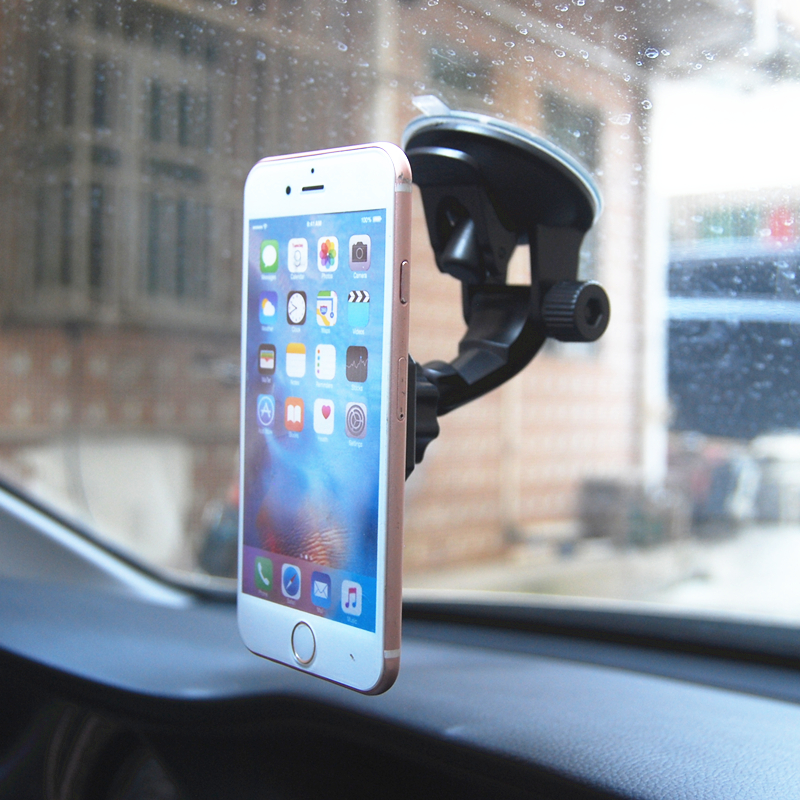 Image 3 - Adjustable Magnetic Car Holder Magnet Car Phone Holder 360 Rotatable Stand Mount Support Universal Windshield Holder free hand-in Phone Holders & Stands from Cellphones & Telecommunications