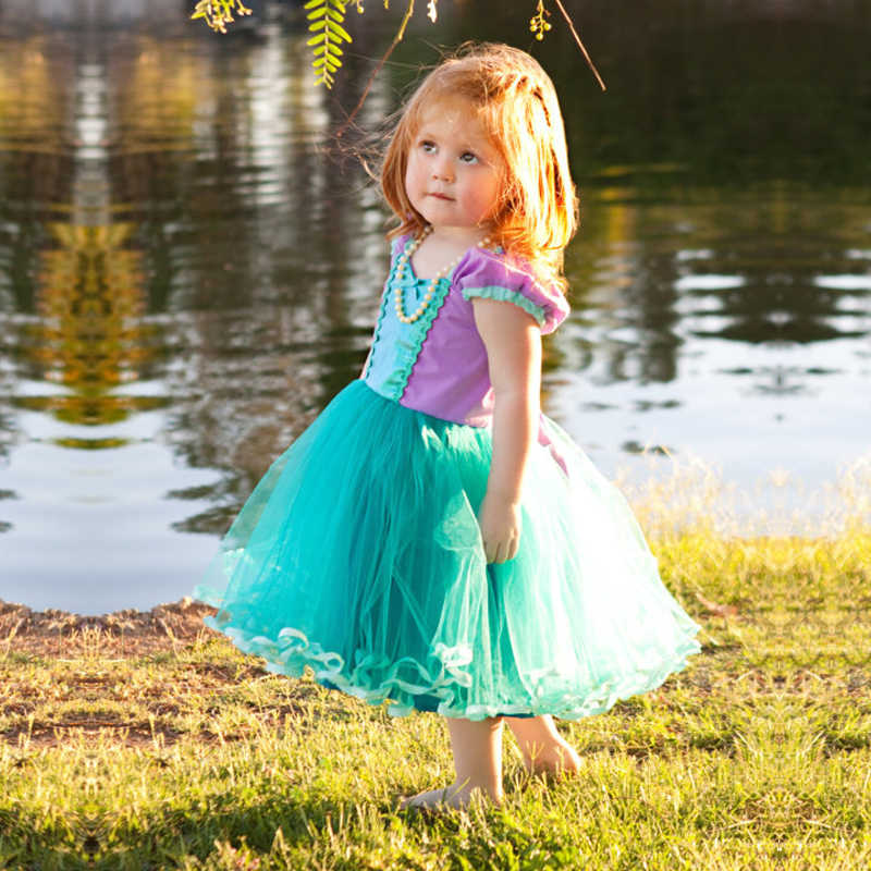 bab3c612d90cb Little Princes Baby Girl Dress Tutu Prom Gown Party Dresses for Girl  Costume Kids Cosplay Birthday Party Outfits 2-6T Clothing