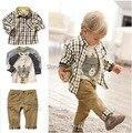 Retail Fashion Baby boy Sets children clothing sets kids clothes sets roupa infantil Free shipping B0018
