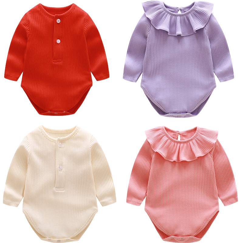 Baby Rompers Autumn Baby Girl Clothes Cotton Baby Boy Clothes Newborn Clothes Roupas Bebe Infant Baby Jumpsuits Kids Clothes new 2016 autumn winter kids jumpsuits newborn baby clothes infant hooded cotton rompers baby boys striped monkey coveralls
