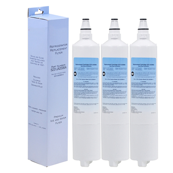 High Quality Household Water Purifier Refrigerator Filter Replacement For Lg Lt600p, 5231ja2005a, 5231ja2006 3 Pcs/lot