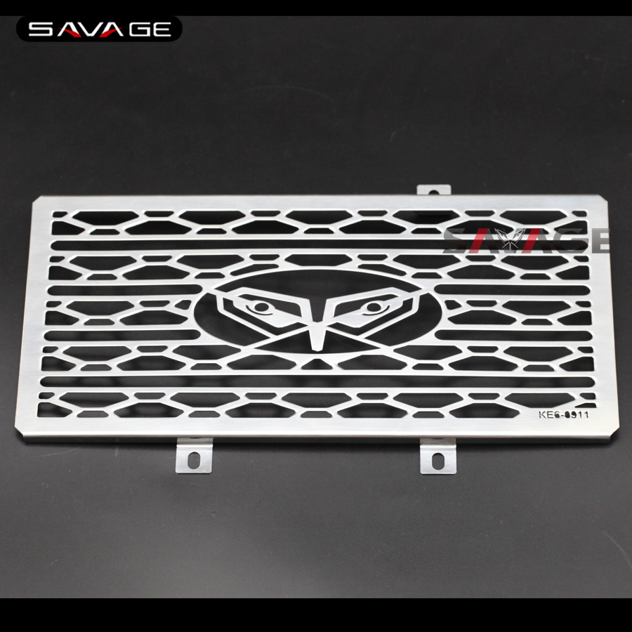 For KAWASAKI ER-6N ER-6F NINJA 650R/400 Motorcycle Radiator Grille Guard Cover Protector Fuel Tank Protection Net motorcycle radiator grill grille guard screen cover protector tank water black for bmw f800r 2009 2010 2011 2012 2013 2014