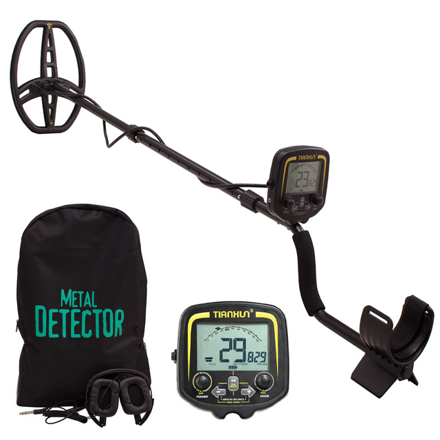 2019 New TIANXUN TX-850 Underground Gold Metal Detector Gold Prospecting  Treasure Detector With Carry Bag Headphone Cover