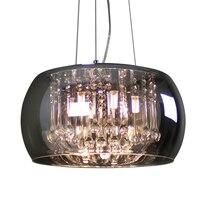 Скандинавские кристаллы для столовой комната; салон Led подвесные светильники, декор дома Лофт светильник Бар Кофе МАГАЗИН Люстра для рестор