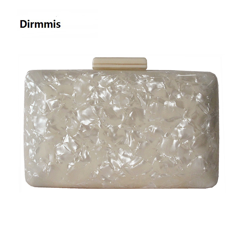 2018 New Brand Fashion Women Evening Bags Beige Cute Handbags Woman Wedding Party Prom Luxury Acrylic Bags Vintage Casual Clutch woman new wallet 2018 brand fashion solid acrylic small shoulder bags party evening bags clutches wedding women casual handbags