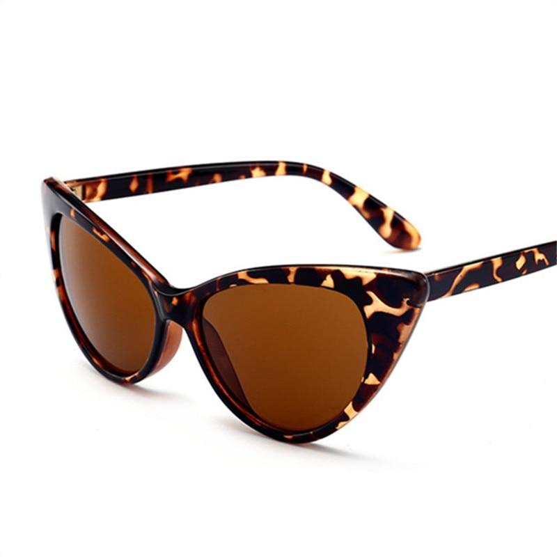 KUJUNY Eyewears Sun-Glasses Cat-Eye Classical Transparent Vintage Brand Women UV400 Jelly-Color