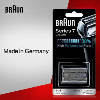 Braun Razor Blade 70S Replacement for Series 7 Electric Shavers(720 730 760cc 790cc 9595 9565 9781)