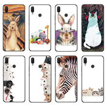 RIGTFKY Phone Case For Huawei Nova 3 Cover 3i Cartoon Silicone Soft Back i