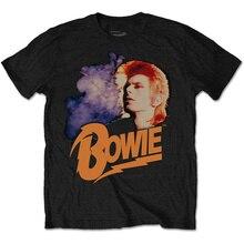Create Your Own Shirt Design Crew Neck David Bowie - Retro Bowie 2 Short-Sleeve Best Friend Mens Shirts цена и фото